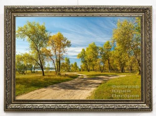 Продаём фотокартину с осенним пейзажем